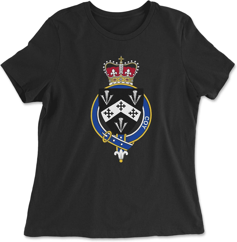 HARD EDGE DESIGN Women's English Garter Family Coy T-Shirt