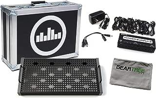 Temple Audio Solo 18 Gunmetal Gray Pedalboard w/Flight Case, Power Supply, and C