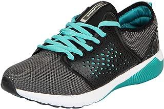 Columbus Mens Grey Aqua Sports Running Shoes KM-01-42