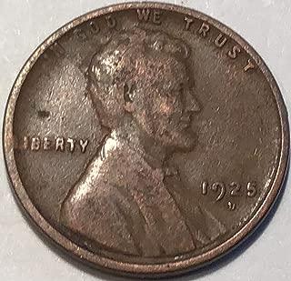 1925 s wheat penny