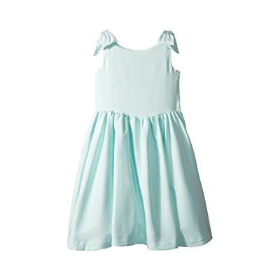 Janie and Jack Special Occasion Bow Sleeve Dress (Toddler/Little Kids/Big Kids) (Mint Green) Girl