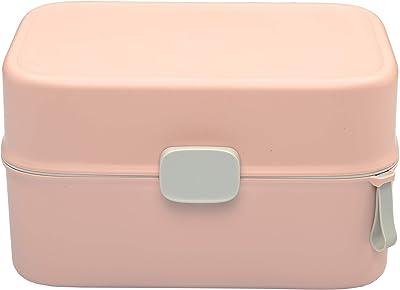 PINK PARI (LABEL) Household Multi-Layer First Aid Kit Multi-Functional Medicine Box, First Aid Kit, Storage Boxes & Bins