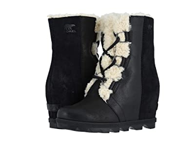 SOREL Joan of Arctictm Wedge II Shearling (Black) Women