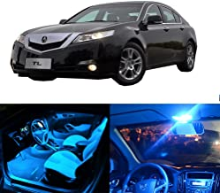 SCITOO LED Interior Lights 14pcs Ice Blue Package Kit Accessories Replacement Fits for Acura TL 1996-2003