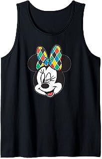 Disney Arlecchino Minnie Mouse Wink Italian Carnival Débardeur