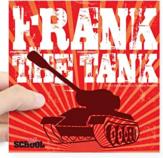 CafePress Frank The Tank Square Sticker 3