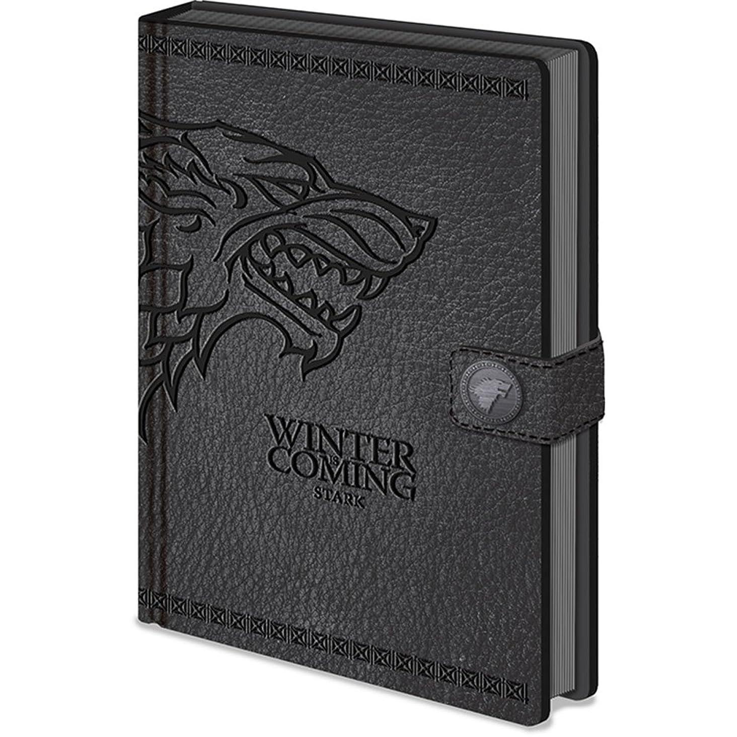 GAME OF THRONES ゲーム?オブ?スローンズ - Stark Premium A5 Notebook/ノート 【公式/オフィシャル】