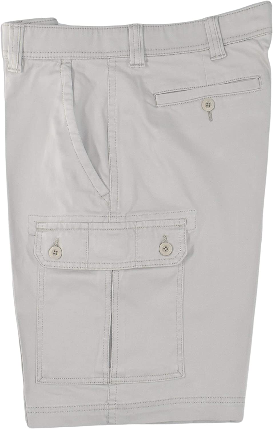St. NEW Max 89% OFF before selling ☆ John's Bay Men's Power Cargo Shorts Stretch Stone Classic