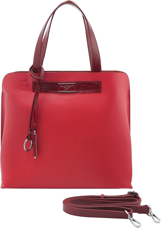 Giorgio Ferretti Excellent Ladies Soldering Handba Genuine Leather Satchel Sacramento Mall