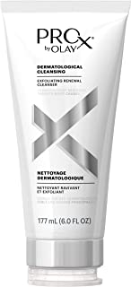 Face Wash by Olay Prox, Exfoliating Renewal Facial Cleanser, 6.0 Fluid Ounce Packaging may Vary