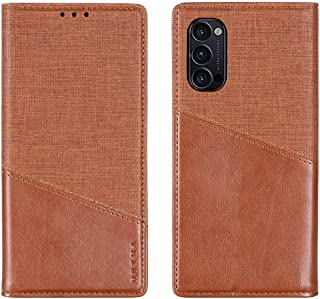 Hanlwza Cover For Oppo Reno 4 Pro 5G Case, Wallet Case, Premium Leather Flip Magnetic Bookstyle Case, Shockproof Protectiv...