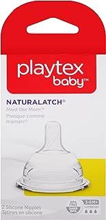 Playtex NaturaLatch Y-Cut Nipple, 2-Count