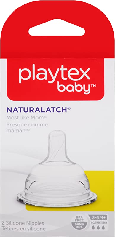 Playtex NaturaLatch Y Cut Nipple 2 Count