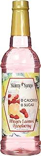 Sugar Free Meyer Lemon Raspberry - Jordan's Skinny Syrups, 25.4 oz.
