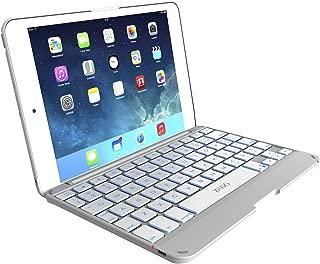 ZAGG Cover with Backlit Bluetooth Keyboard for Apple iPad mini 1 / mini 2 / iPad Mini 3- White