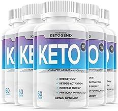 (5 Pack) Ketogenix Keto Max Pills Shark Tank Advanced Weight Loss Puretonics VIP Tablets Ketogenic (300 Capsules)