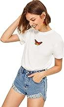 Best womens butterfly t shirt Reviews