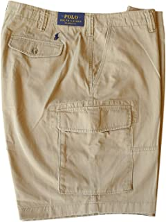 Mens Relaxed Fit Cargo Shorts