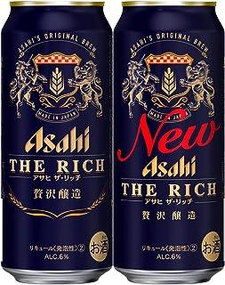 【新ジャンル/第3のビール】アサヒ ザ・リッチ [ ビール 500ml×24本 ]
