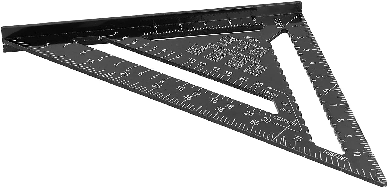 Convenient Triangle Ruler Aluminum Regular dealer Super beauty product restock quality top! Alloy 300 Angle x 430m