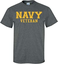 ZeroGravitee Navy Veteran Gold Logo Short Sleeve T-Shirt