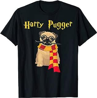 Harry Pugger Funny Pug Halloween T-Shirt