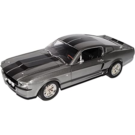 Modellauto Ford Shelby Mustang 1967 Fertigmodell Greenlight 1:18 met.-grau Eleanor