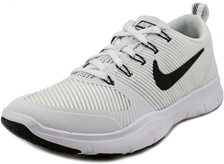 Nike Free Train Versatility TB Running shoes 833257 100 White Black Size 8.5