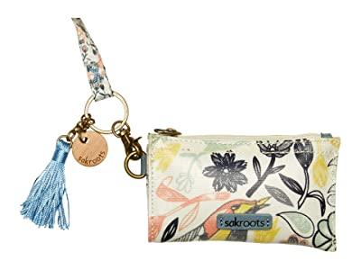 Sakroots Artist Circle ID Lanyard (Multi Peace Birds) Wallet