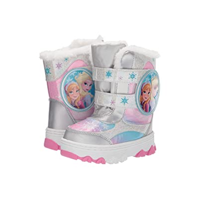 Josmo Kids Frozen Snow Boots (Toddler/Little Kid) (White/Multi) Girls Shoes
