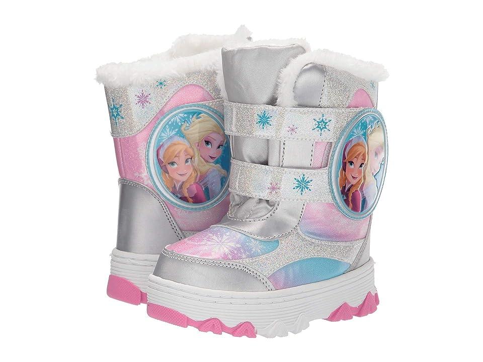 Josmo Kids Frozen Snow Boots (Toddler/Little Kid) (White/Multi) Girls Shoes