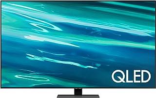 Samsung 65 Inches Q80A QLED 4K Smart TV (2021), Silver, QA65Q80AAUXZN