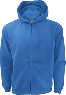 Fruit of the Loom Mens Zip Through Hooded Sweatshirt/Hoodie