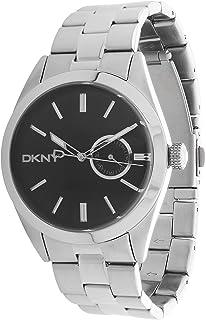 Dkny jitney Mens Analog Quartz Watch with Stainless Steel Bracelet NY1534