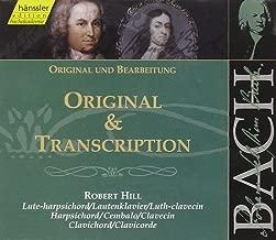 Bach: Original & Transcription - sonatas and partitas after J. A. Reincken Edition Bachakademie Vol 110 Hill