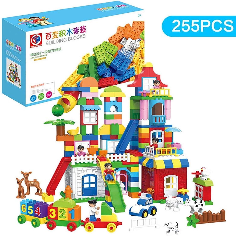 TTGE 255 pcs Kinder große Partikel bausteine ABS-Material Kinder von 1-6 Jahren B07M6PPMFM  Zuverlässiger Ruf    | Üppiges Design