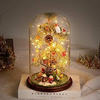 Timker Sapin De Noel Decoration Noel Petit Sapin De Noel avec des Boule De Noel Lumières LED pour Décoration Noel Deco Tab...