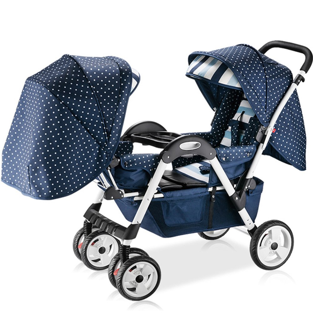 OLizee Toddler Double Tricycle Stroller