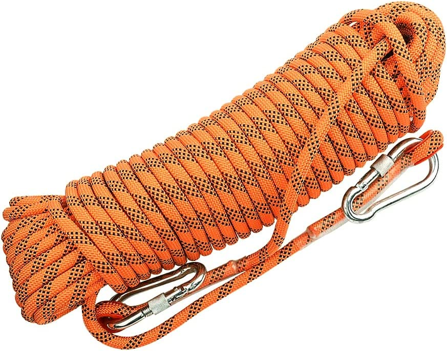 QHY Climbing Rope 18mm Static Str Rock High Fashionable Safety New item
