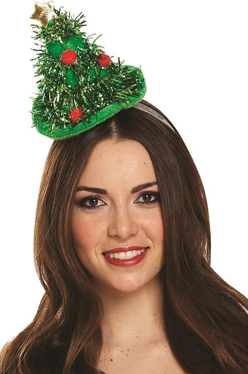 Noël Bonhomme de neige sur serre-tête Mini chapeau avec Holly Fun Fancy Party Costume Outfit