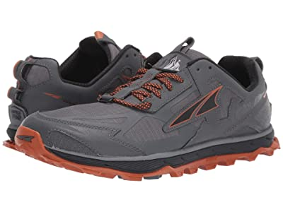 Altra Footwear Lone Peak 4.5 (Gray/Orange) Men