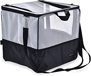 AmazonBasics Portable Small Pet Carrier and Car Seat