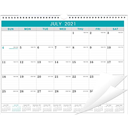 2022 Julian Calendar.Amazon Com 2021 2022 Calendar 2021 2022 Wall Calendar Start In July 2021 Jul 2021 To Dec 2022 18 Months Calendar With Julian Date Thick Paper For Organizing Planning 14 75 X 11 5 Inches Office Products