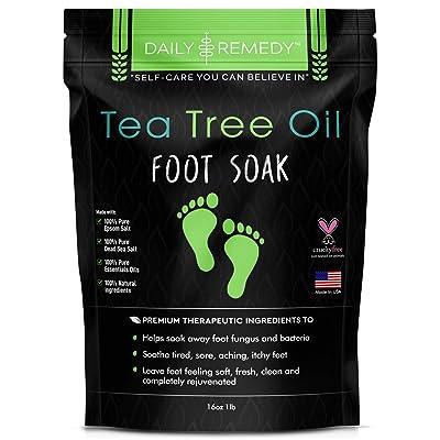 Remedy Tea Tree Oil Foot Soak with Epsom Salt