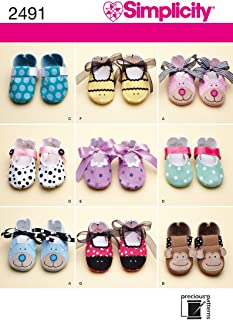 Best simplicity baby shoe pattern Reviews