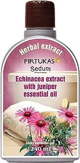 Extrait de fines huiles essentielles aux herbes naturelles Sedum pour sauna - Infusion de sauna avec Extrait d'échinacée à...