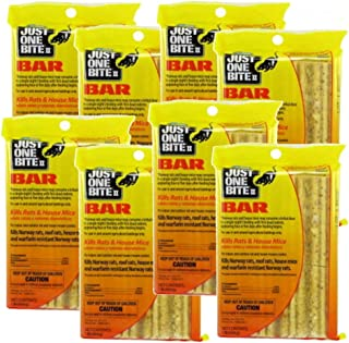 Just One Bite II 16 oz. Rodent Rat Bait Cake Blocks - (Pack of 8)