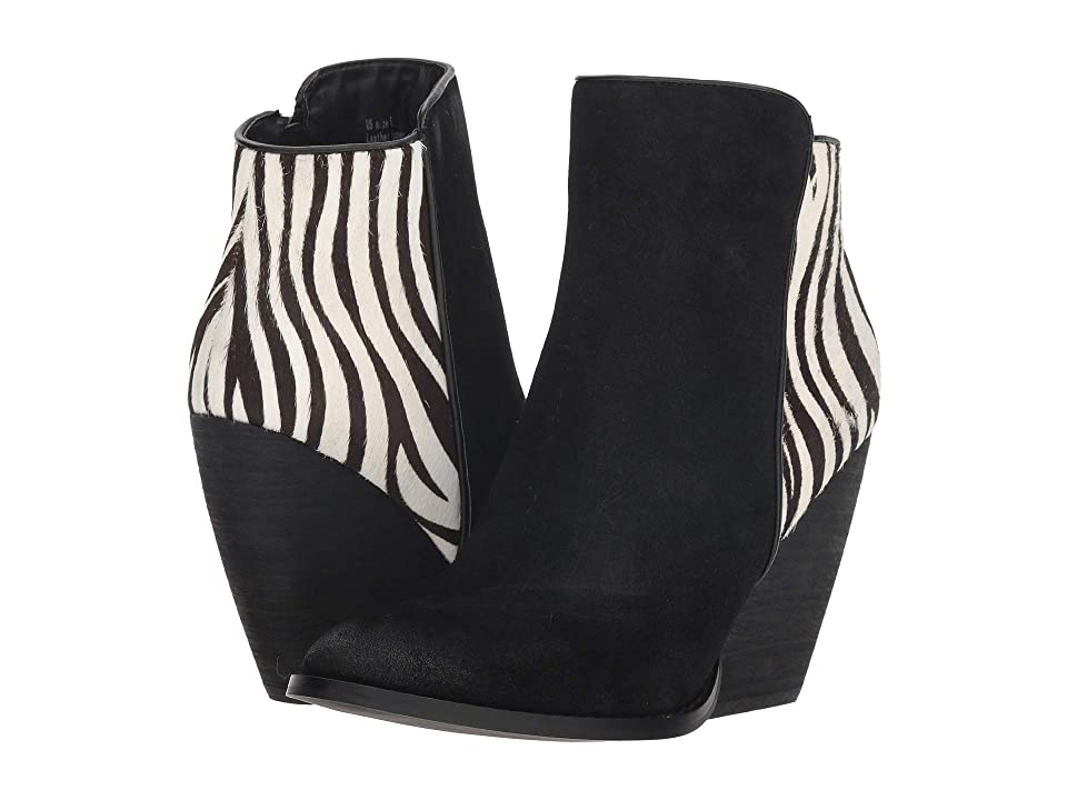 VOLATILE Kimmy (Black/White/Zebra) Women