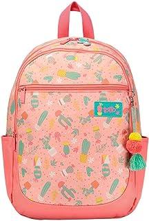 Mochila Escolar Estampado Cactus Pink - Emelinda