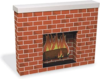 Pacon PAC53080 Corobuff Cardboard Fireplace Decoration
